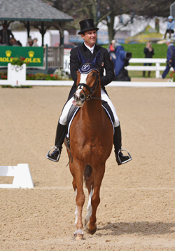 All Three in Top 20 After Dressage at Rolex