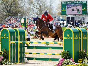 Boyd Martin's Trading Aces Finishes 8th at Rolex
