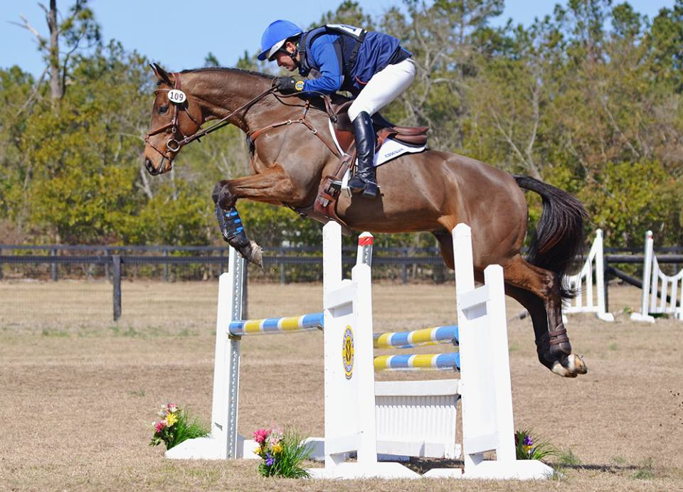 Phillip Dutton and Icabad Crane at Paradise Farm Horse Trials, February 2015. Photo by Jenni Autry.