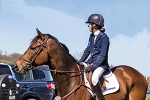 Olivia Dutton and Icabad Crane Win at Plantation Field