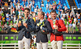 Phillip Dutton and Mighty Nice Win Individual Bronze in Rio