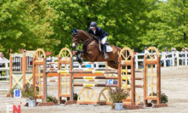 Mr. Candyman Wins Jersey Fresh CCI3*